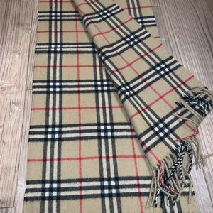 Burberry Accessories - Burberry House Check Cashmere Scarf